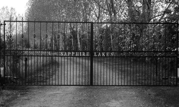 Sapphire Lakes Gates