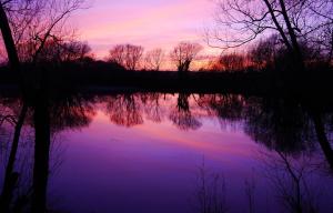 Sapphire Lakes Sunset