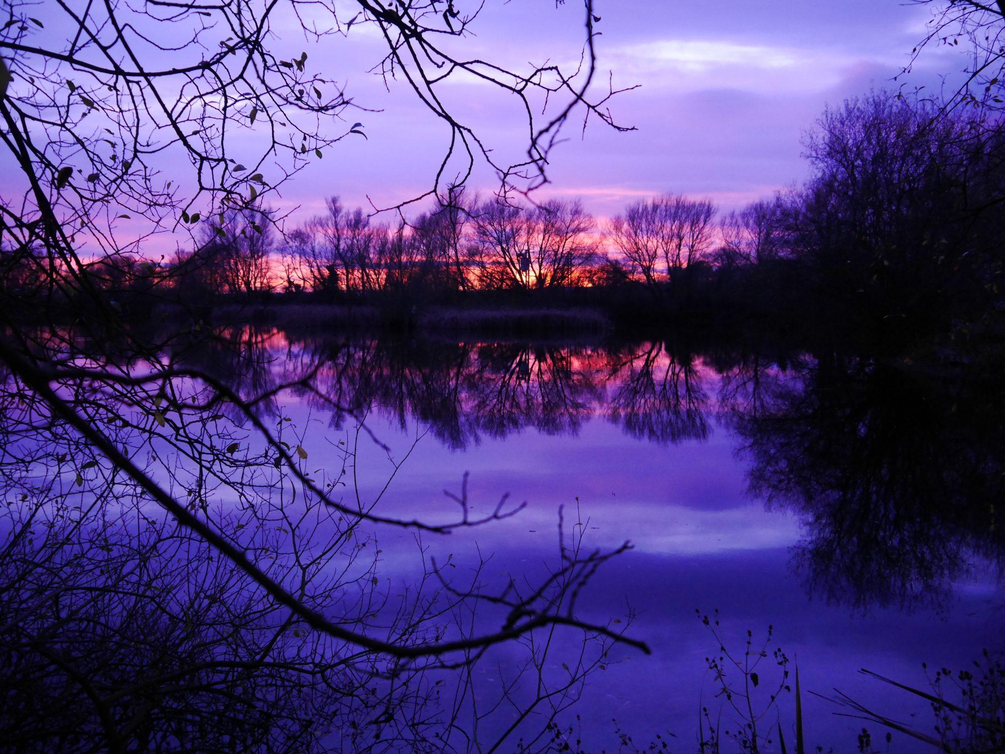 Sapphire Lake Background