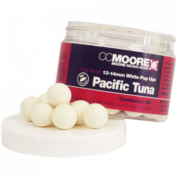CCMoore Pacific Tuna White Popup Boilie